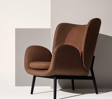 Fogian tyylikäs Enclose -nojatuoli